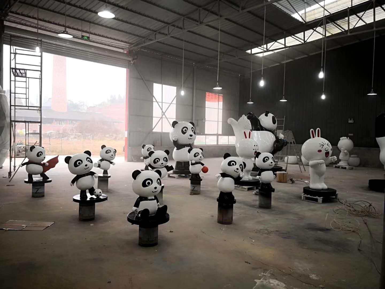 贵阳雕塑制作厂家|贵州玻璃钢雕塑制作|六盘水商场美陈雕塑制作厂家