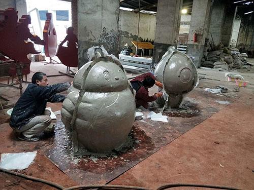 万博官网手机版网页雕塑制作厂家案例展示